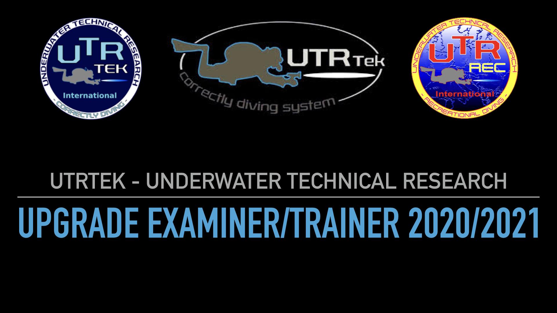 UPGRADE EXAMINER/TRAINER 2020/2021