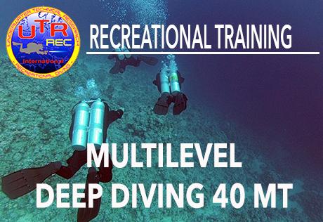 MULTILEVEL DEEP DIVING 40 MT