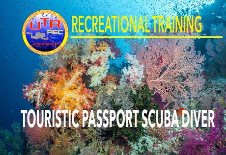 TOURISTIC PASSPORT SCUBA DIVER